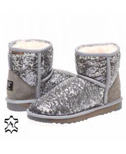 2-Tone-Ultra-Short-Glitter-Sparkle-Australian-Made-UGG-Boots- 3