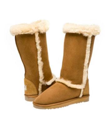 Classic Fur Trim Ugg Boots