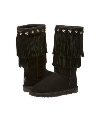 Long Star Fringe Ugg Boots