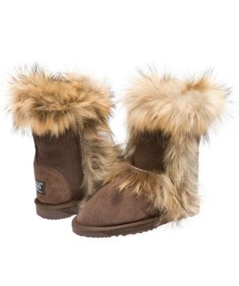Short Foxy Ugg Boots - Australian Leather - Australian Made Ugg Boots
