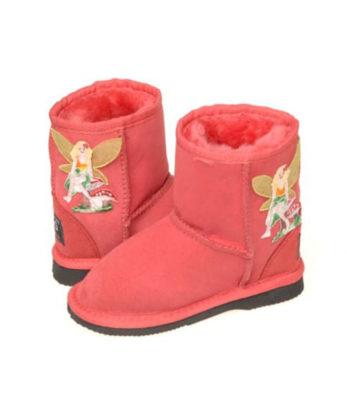 Tinkerbell print Kids Ugg Boots