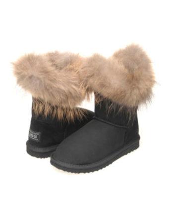 Ultra Short Top Foxy Ugg Boots fox trim ugg boots sale