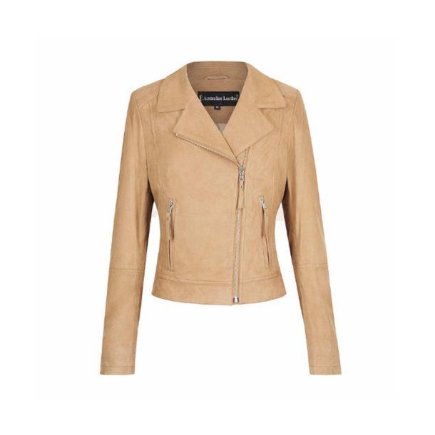 Annabel Ladies Leather Jacket genuine leather sheepskin leather sale