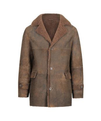 Brad Mens Classic Sheepskin Jacket classic look double face Australian Sheerlings sale