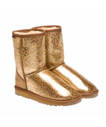 Leopard print Shimmer Ugg Boots