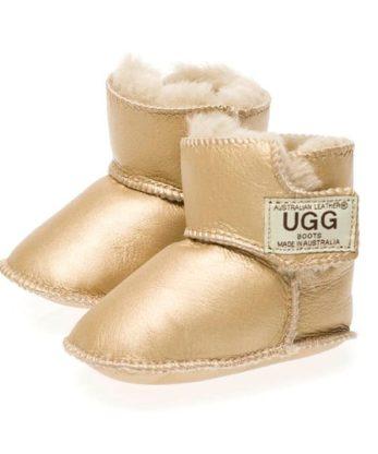 Baby Ugg Booties Napa Velcro