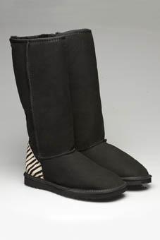 Classic Long Zebra Print Ugg Boots