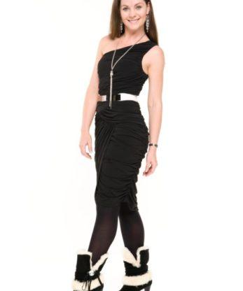 Chantelle High Heel Uggs made with Swarovski elements