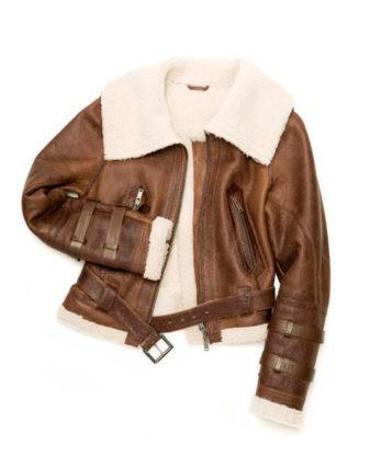 Charlotte Womens Sheerling Jacket