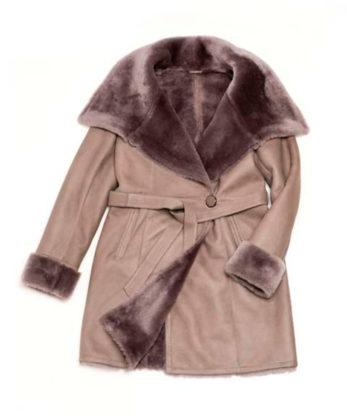 Diane sheerling coat australian lamb skins sheerling three couter coat fashion coat sale