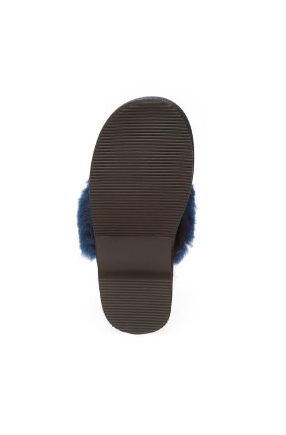 Fur Trim Scuffs & Slides