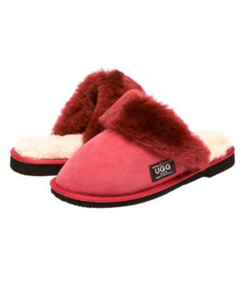 Fur Trim Scuffs & Slides Australian Made sale UGG Boots
