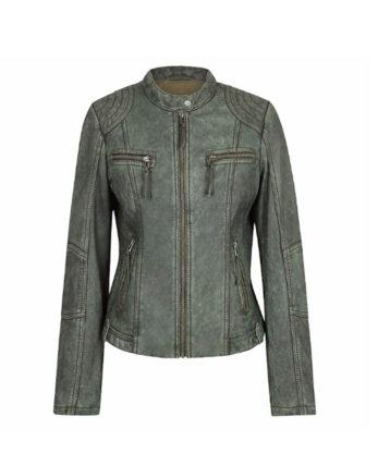 Gina Ladies Leather Jacket genuine leather sale