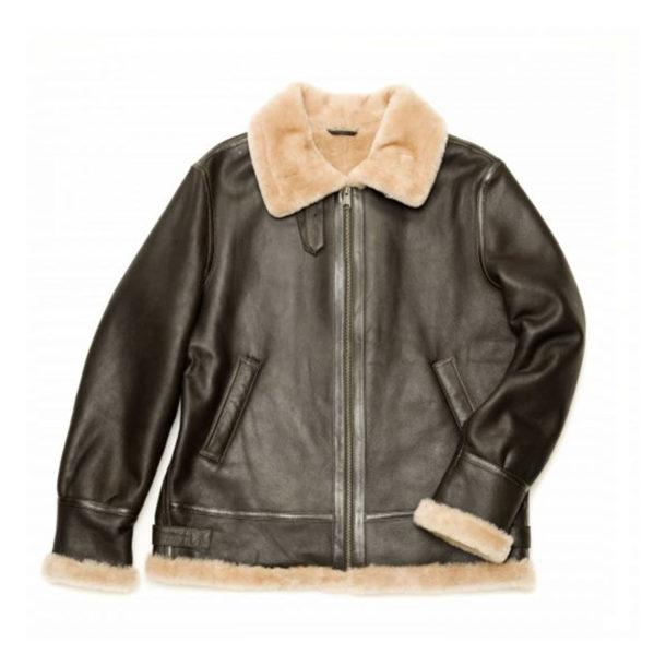 Henry mens aviator sheepskin Jacket sheeling jacket aviator jacket sale