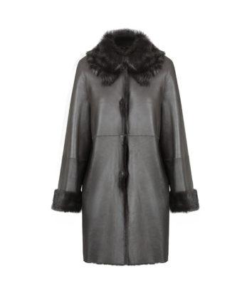 Irene Ladies Sheepskin Coat