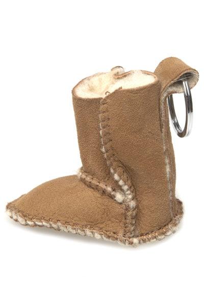 Sheepskin Ugg Boot Key Ring