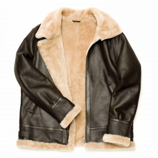 Henry Aviator Sheepkin Jacket