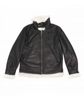 Michael Sheerling Bomber Jacket Genuine Australian lamb skins bomber fur jacket sale