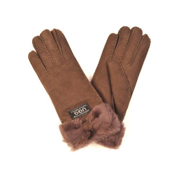 Sheepskin Bow gloves