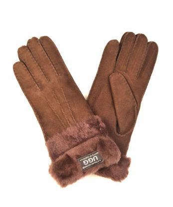 Sheepskin Double Cuff gloves
