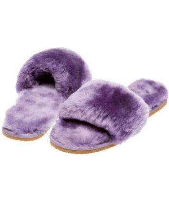 Sheepskin Strap Flip Flops ugg boots