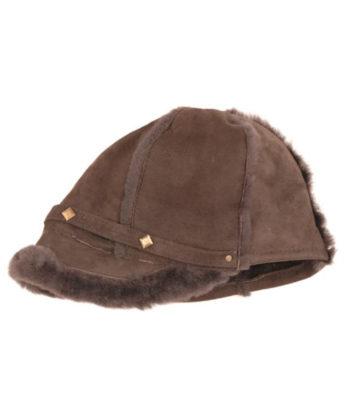 Sheepskin Studded Hat