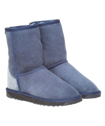Swarovski Crystal Fabric Heel Ugg Boots