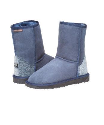 Swarovski Crystal Fabric Heel Ugg Boots Australian Made crystal heel patch comforatable Ugg Boots