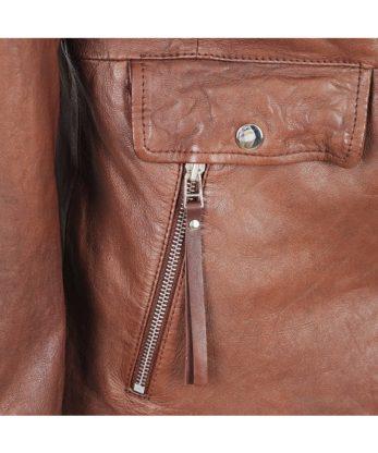Aisha Ladies Leather Jacket