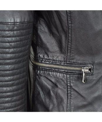 Elizabeth Ladies Leather Jacket