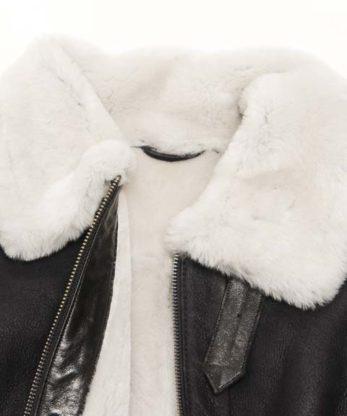 Michelle Sheepskin Fur Jacket