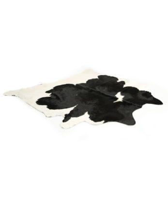 Black & White Cowhide Floor Rug