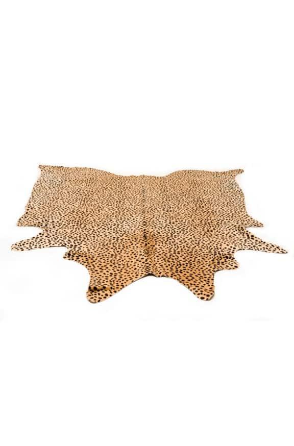 Leopard print Cowhide Rug