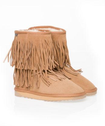 Tassle Ugg Boots Chestnut_100% Sheepskin ugg boots