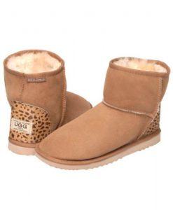 Ultra-Short-Leopard-Print-Heel-Australian-Made-UGG-Boots- 2