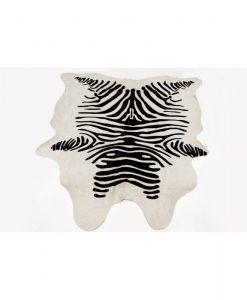 Zebra-Print-Cow-Hide-Rug-Australian-Made-UGG-Boots-